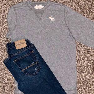 | Abercrombie Jeans & LS Shirt |  ✨Boys Jeans✨|